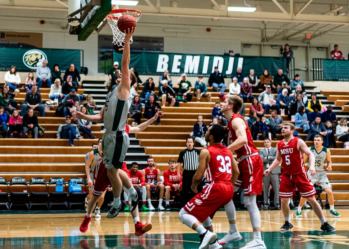 Season-best NSIC defensive performance leads to 82-53 win for Bemidji State