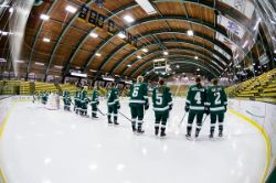 W Hockey at Vermont - by Brent Cizek (10/2/2015)