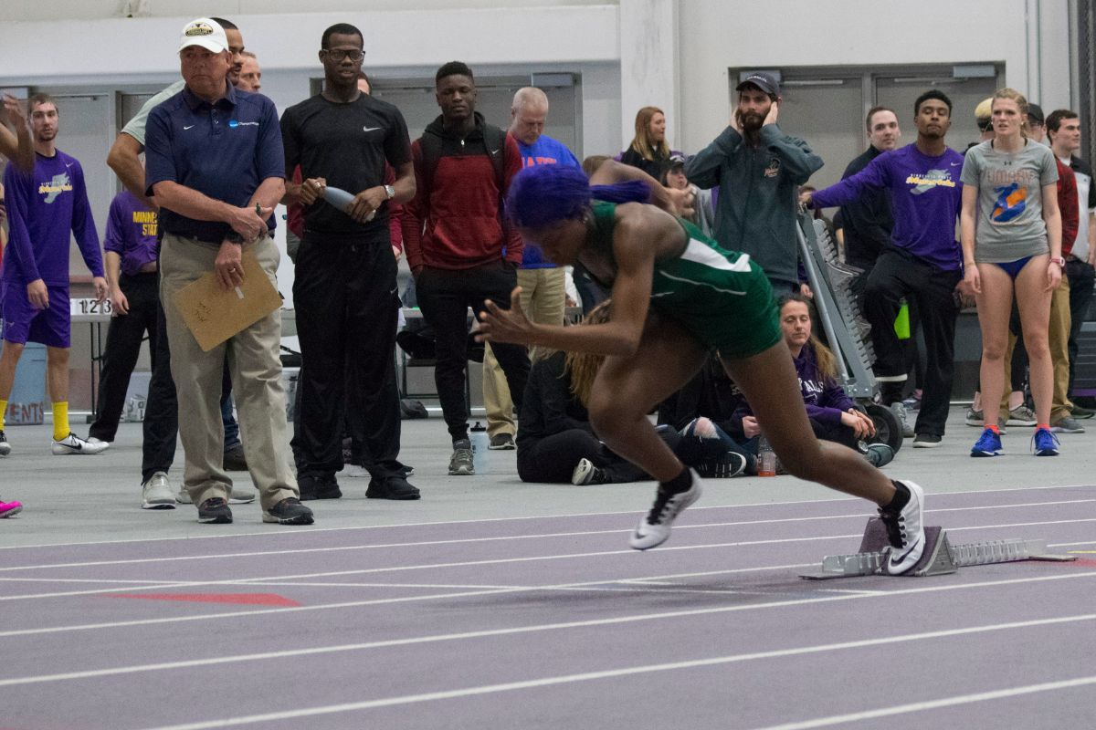 BSU wraps up regular season meets with record-breaking performances