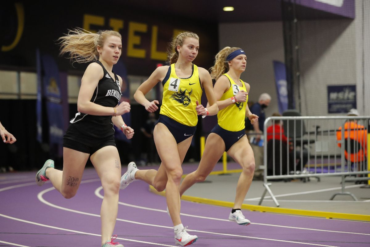 Mbenoun wins 600m title at 2021 NSIC Indoor Championships