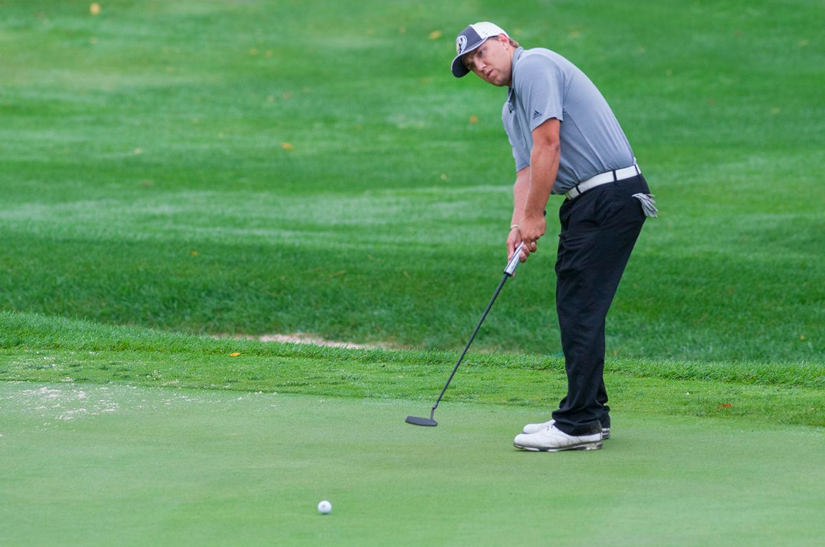 Nelson leads BSU Men's Golf to top-10 finish at NSU Golf Classic