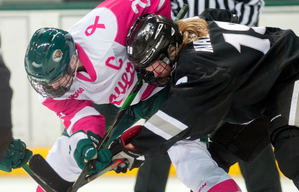 Women's Hockey falls 5-1 in first game versus Providence