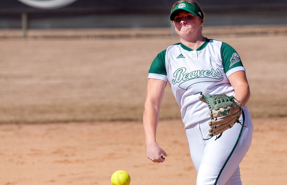 Beavers swept by Bulldogs in cold doubleheader