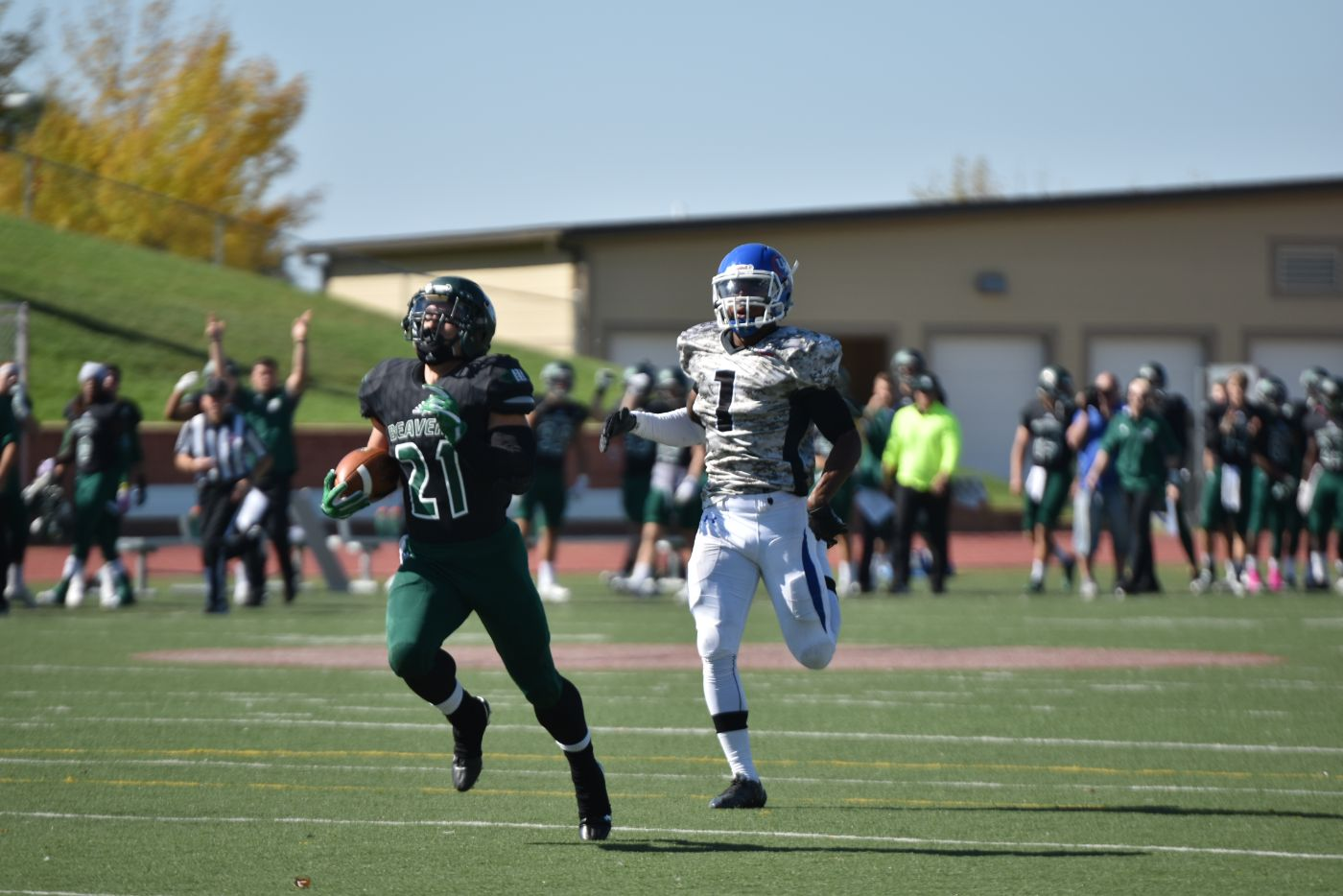 BSU football rushes for school record 480 yards en route to 52-3 win over U-Mary
