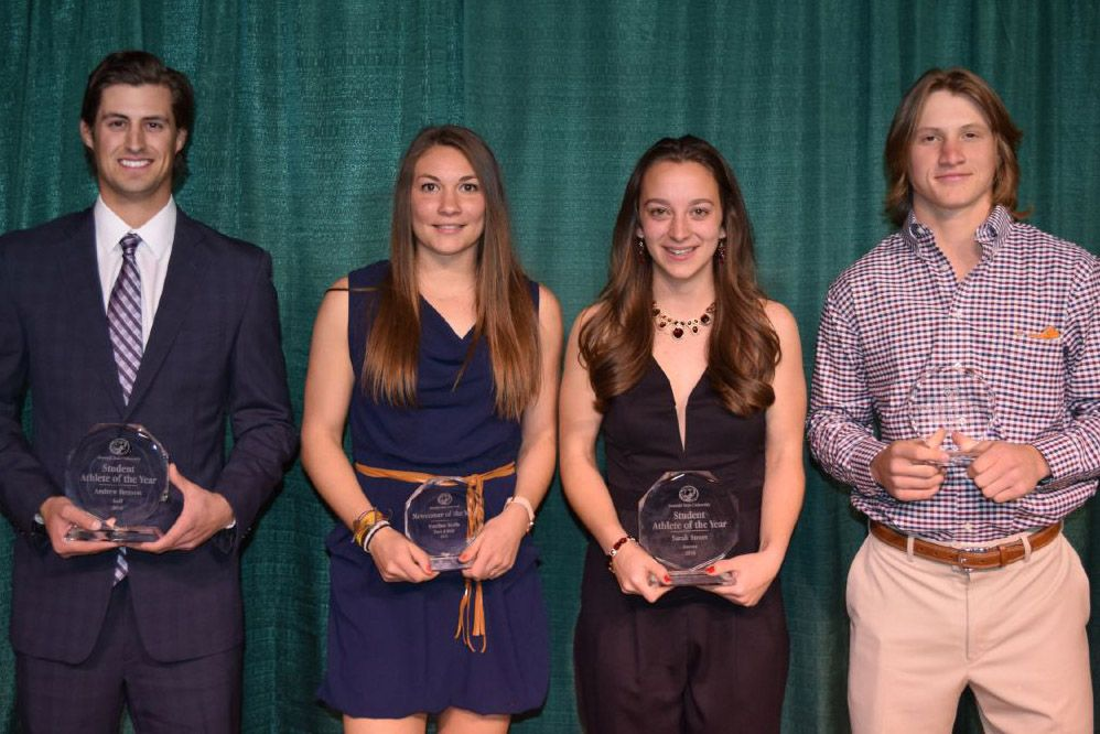 Stram and Benson named Bemidji State's Student-Athletes of the Year