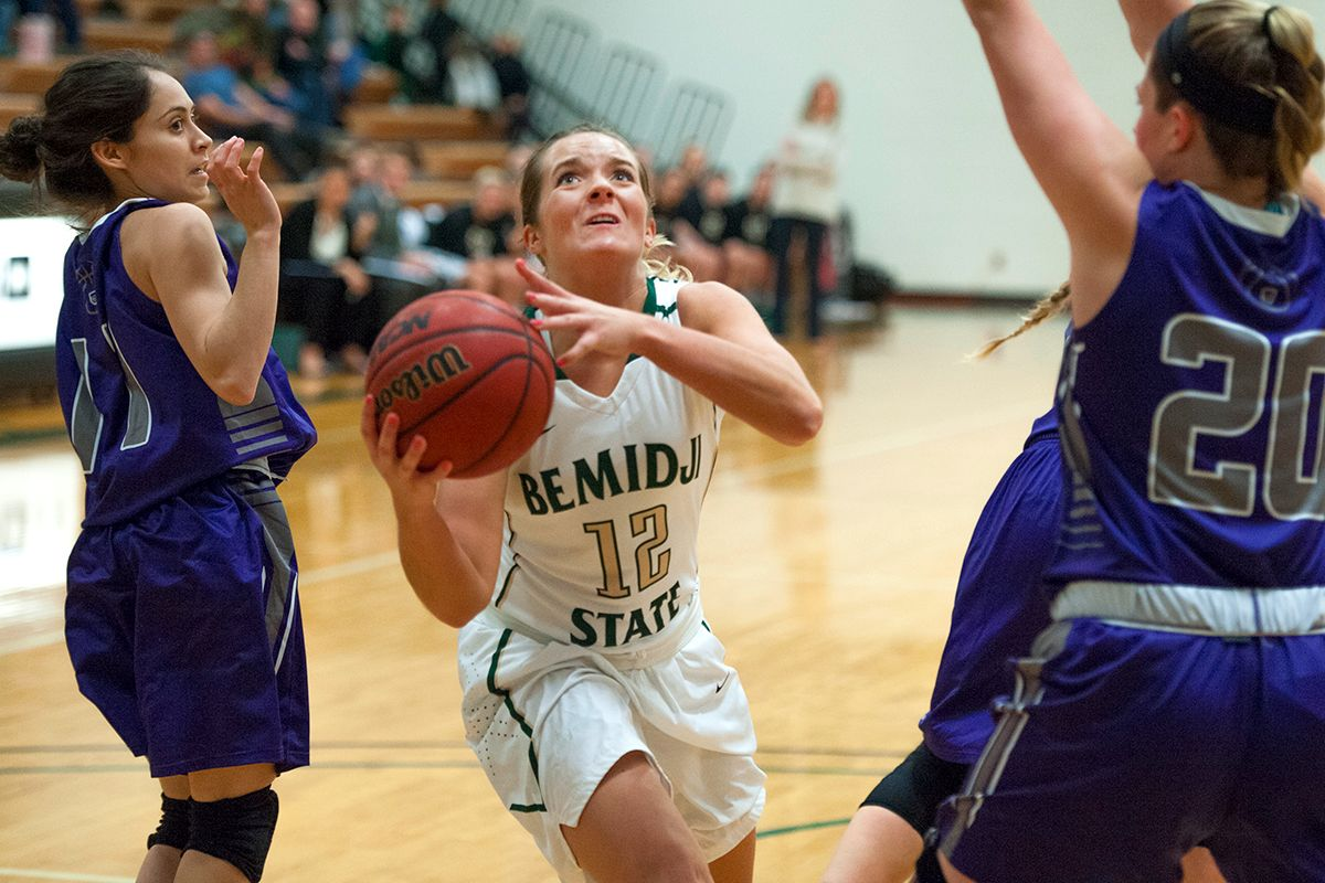 Bemidji State exits home schedule with 90-84 win versus Minot State