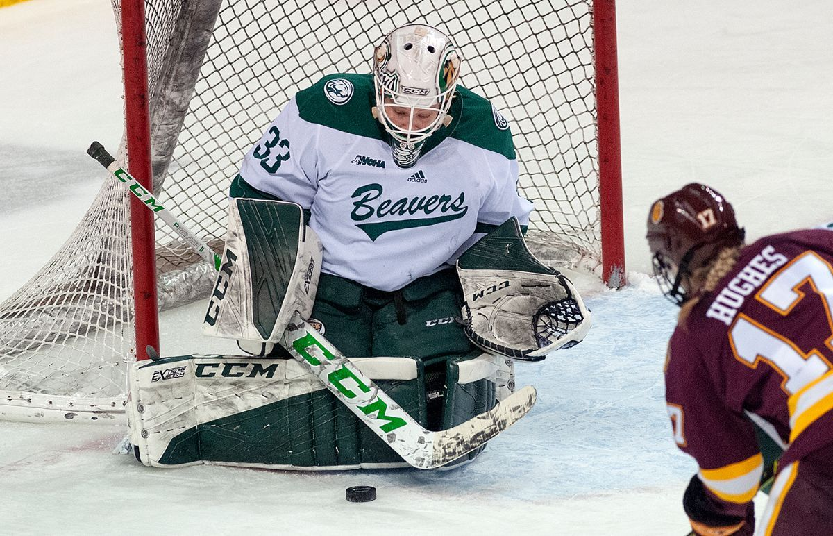 No. 6 Bulldogs earn series split with 1-0 overtime victory