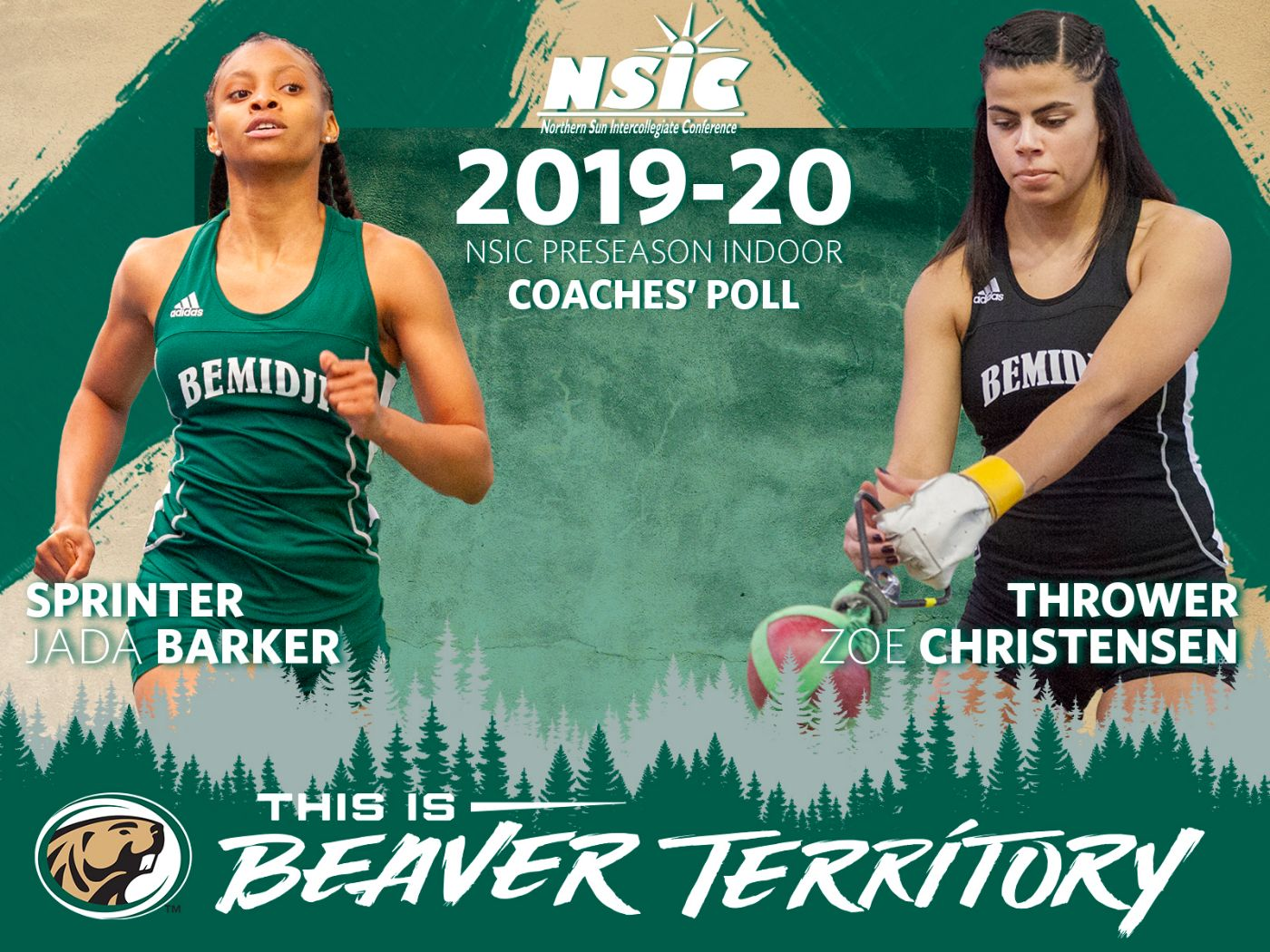 Barker, Christensen named BSU Athletes to Watch in NSIC Indoor Coaches Poll