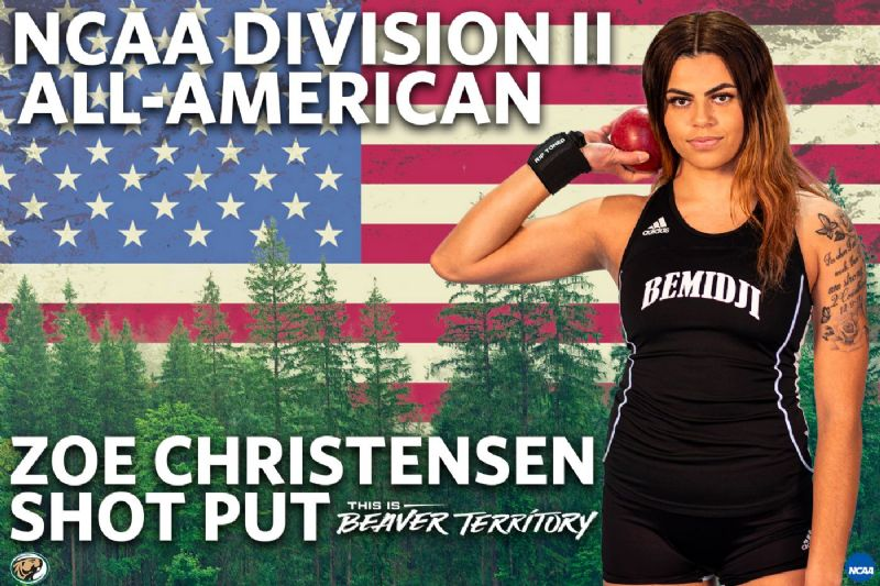 Zoe Christensen named 2020 NCAA Division II All-American