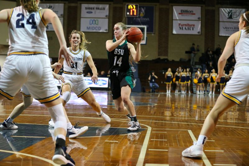 Women's Basketball season ends after 75-56 loss to Augustana