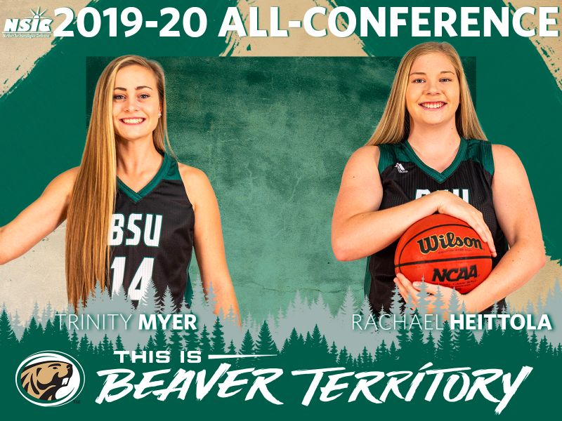 Myer earns All-NSIC Second Team, Heittola named to All-Freshmen Team