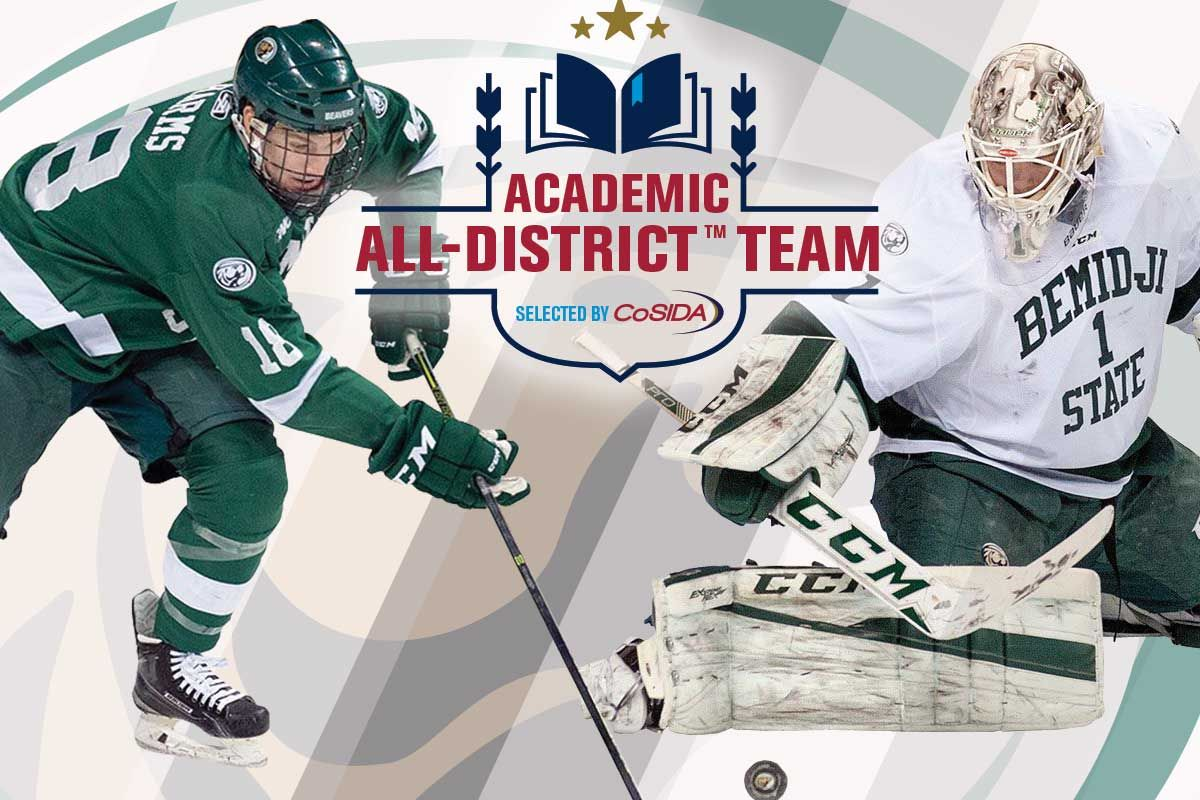 Bemidji State's Bitzer and Harms earn Academic All-District nods
