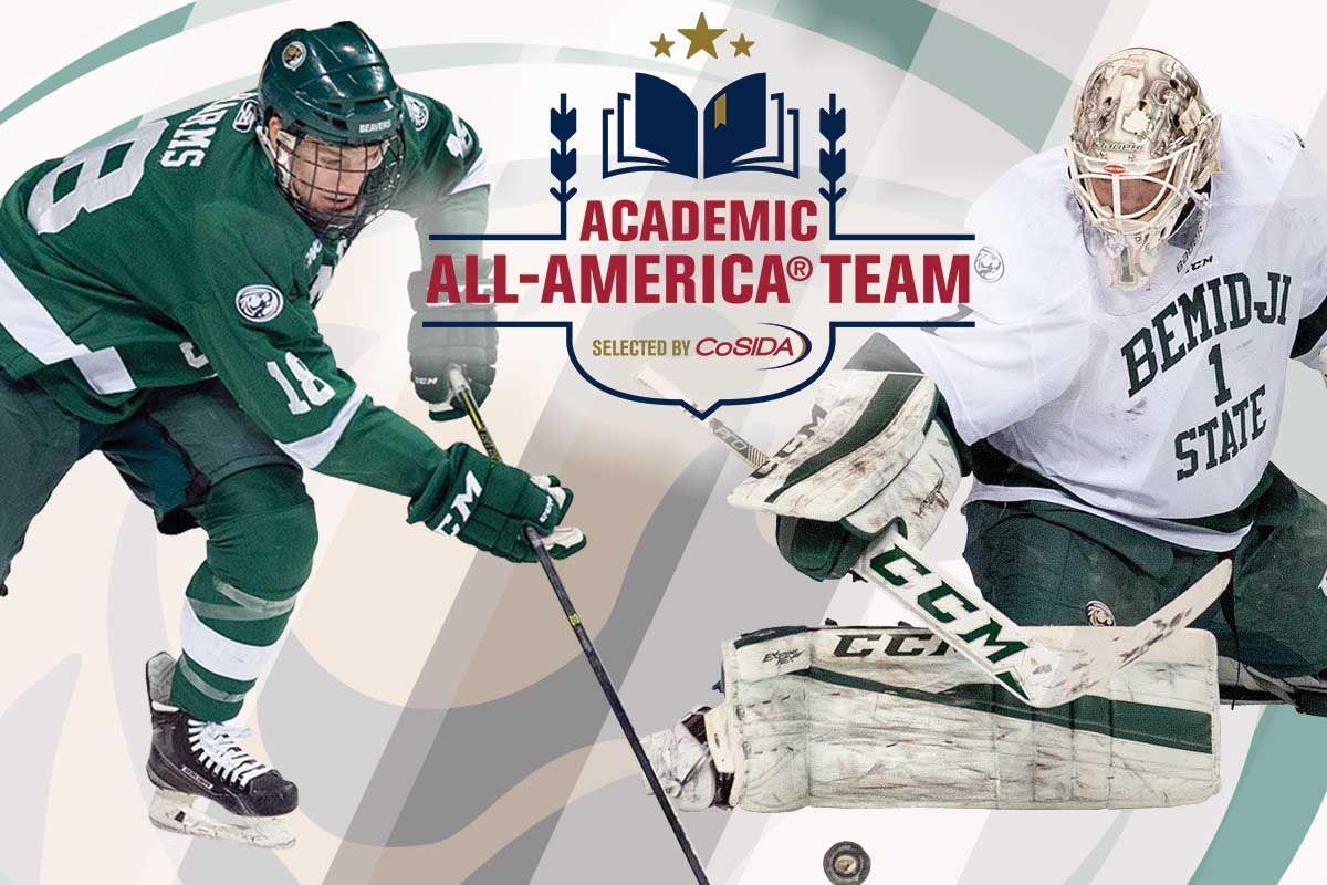 Bitzer and Harms cited for Academic All-America Honors