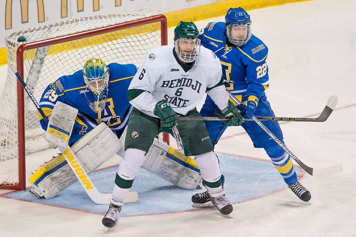 Beavers travel to Fairbanks for WCHA series with the Nanooks