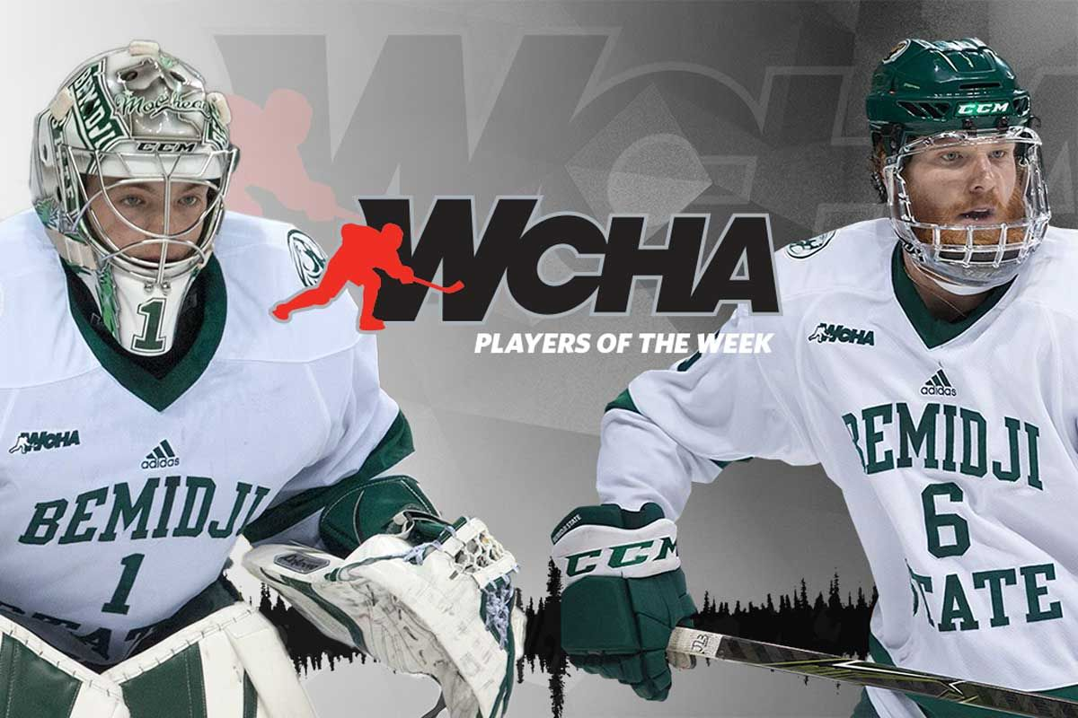Bitzer and Dickman earn WCHA honors