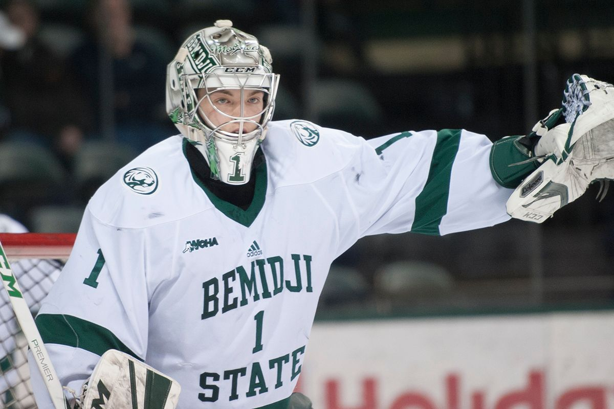 Bitzer posts 20th career shutout in 3-0 win at Lake Superior State