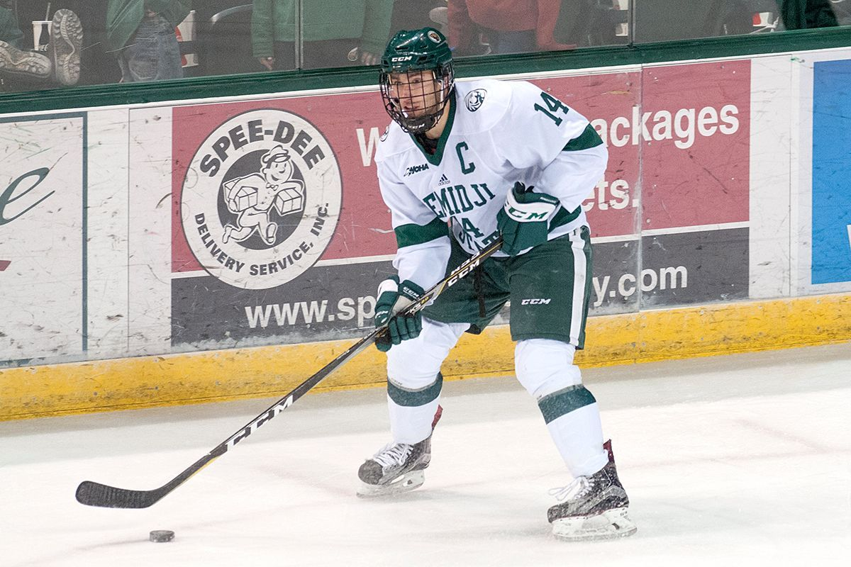 Five-goal second period powers Bemidji State to 6-3 win at Lake Superior State