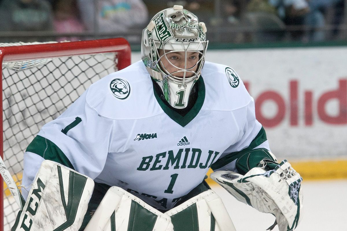Bitzer becomes Bemidji State's all-time saves leader in 2-1 loss at No. 5 Minnesota State