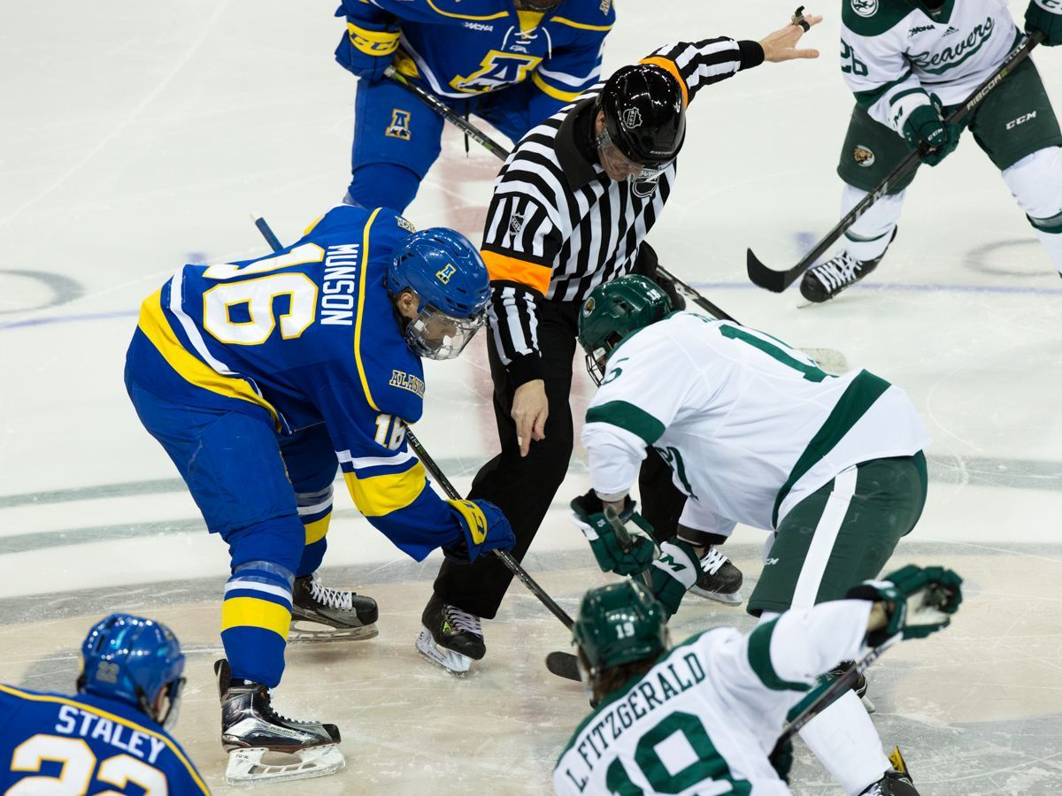 Bemidji State secures home ice for WCHA first wound with 2-1 win