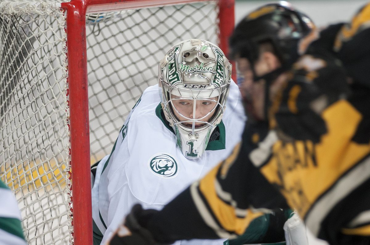 Penalty time dooms Bemidji State in game 1 of WCHA quarterfinal