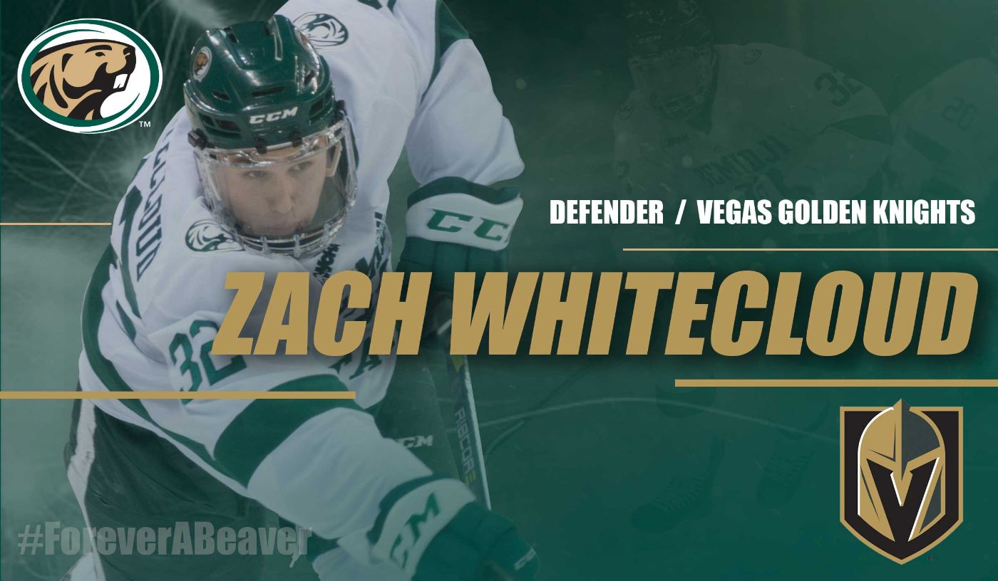 Whitecloud signs NHL deal with the Vegas Golden Knights