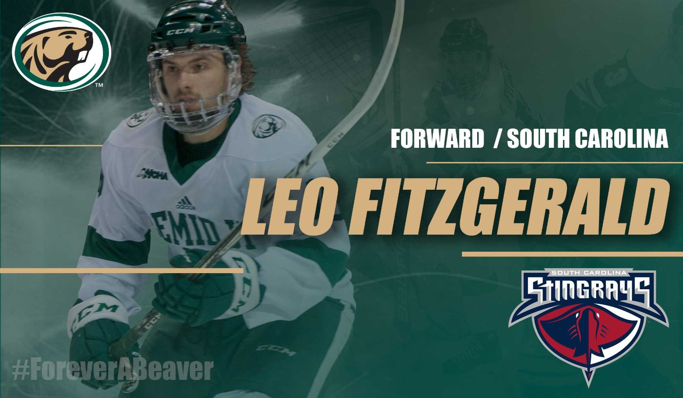 Leo Fitzgerald continues hockey career with ECHL's Stingrays