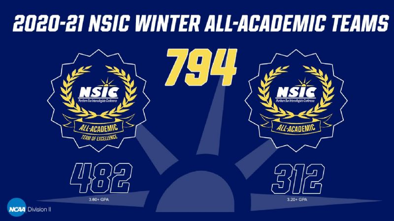 28 Beavers earn 2020-21 NSIC Winter All-Academic honors