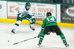 MHockey vs. North Dakota (11/19/11)