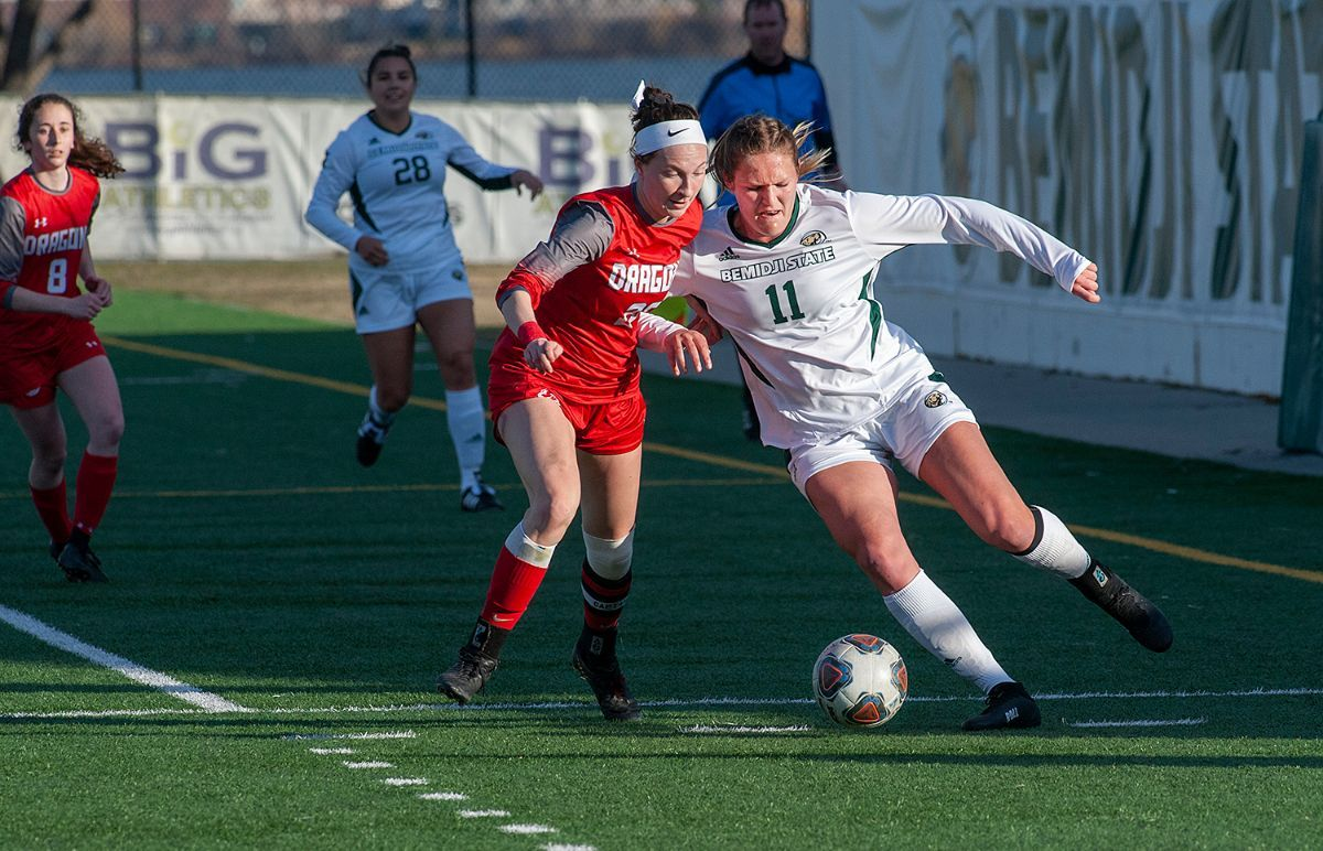 Wendt and Becker lead Beavers to 2-0 win over Minot State
