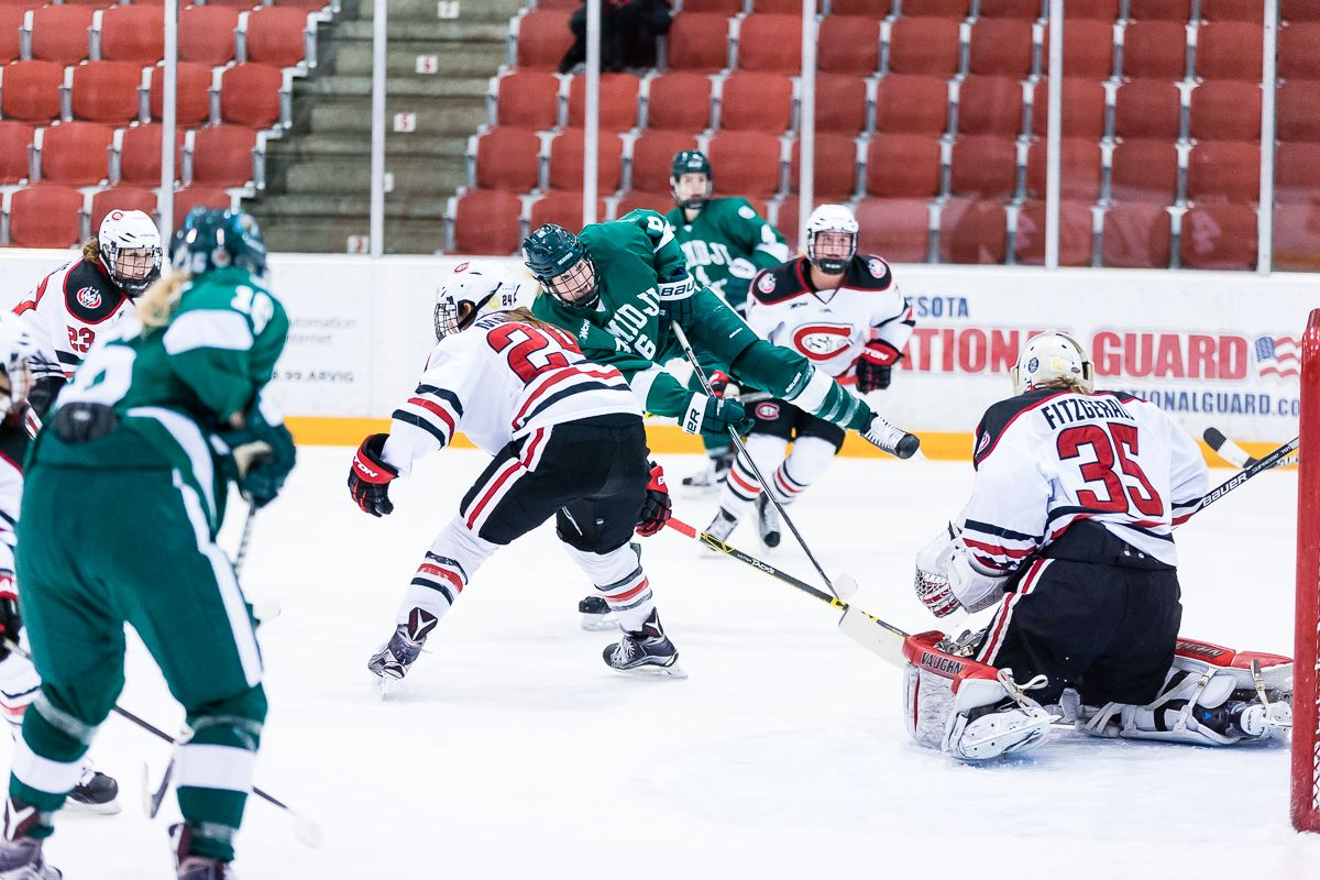 No. 7 Bemidji State and St. Cloud State skate to 3-3 tie; BSU wins shootout, 1-0