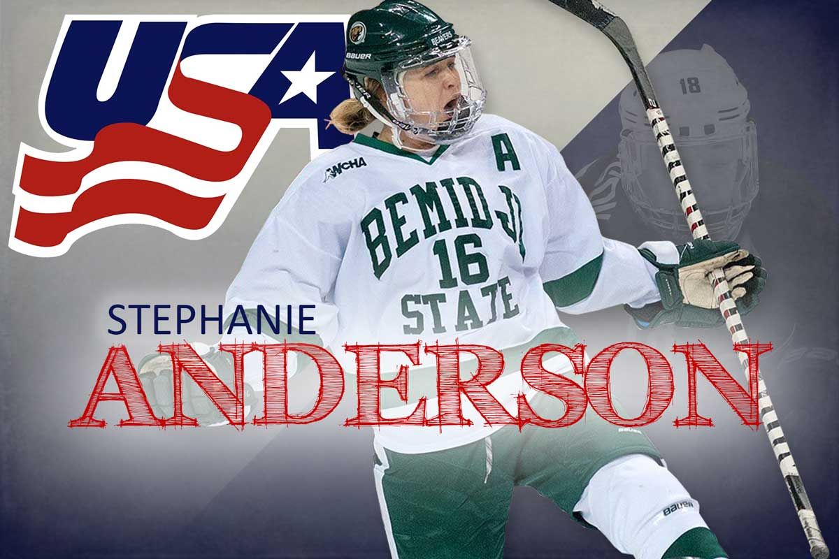 Anderson to participate in USA Hockey Women's National Festival