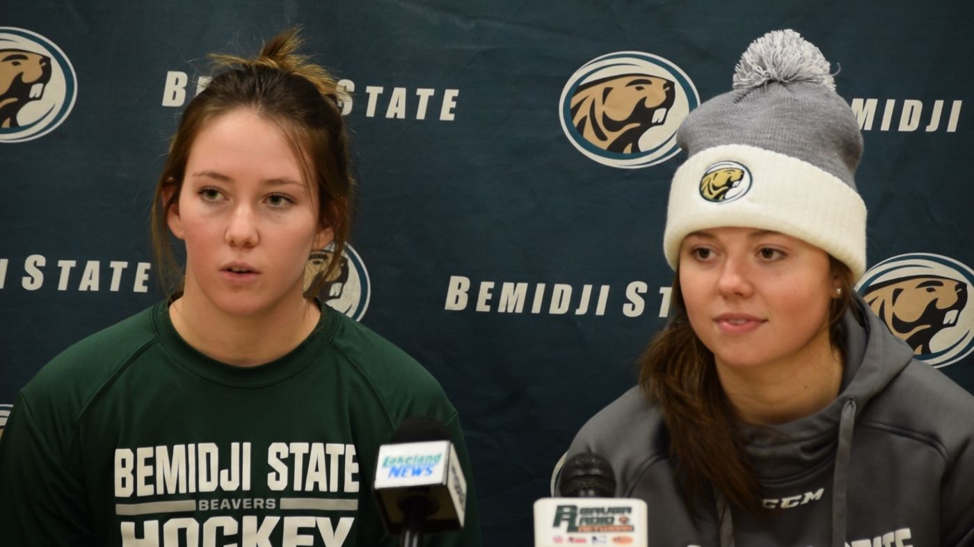 Women's Hockey recaps Ohio State series at latest media day