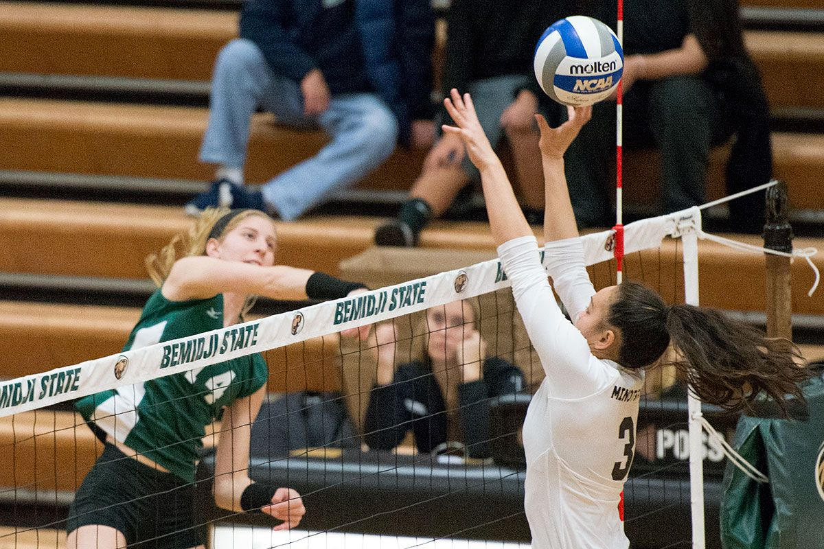 Tronick records career high 23 kills but Beavers fall to MSU-Moorhead