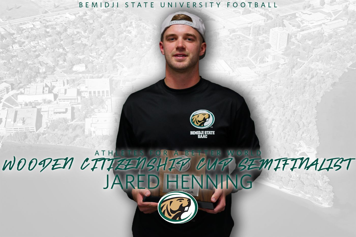 Henning recognized as top role model as Wooden Citizenship Cup semifinalist