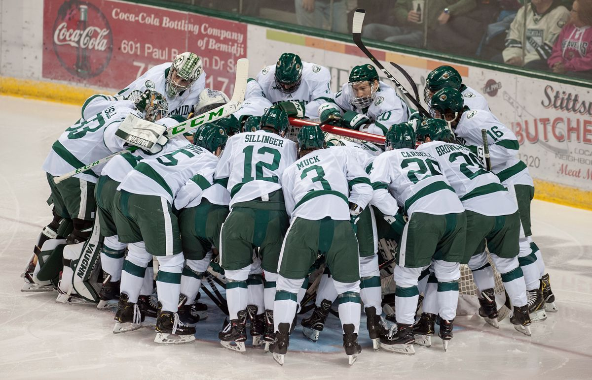 Bemidji State tabbed No. 3/5 in the WCHA preseason polls