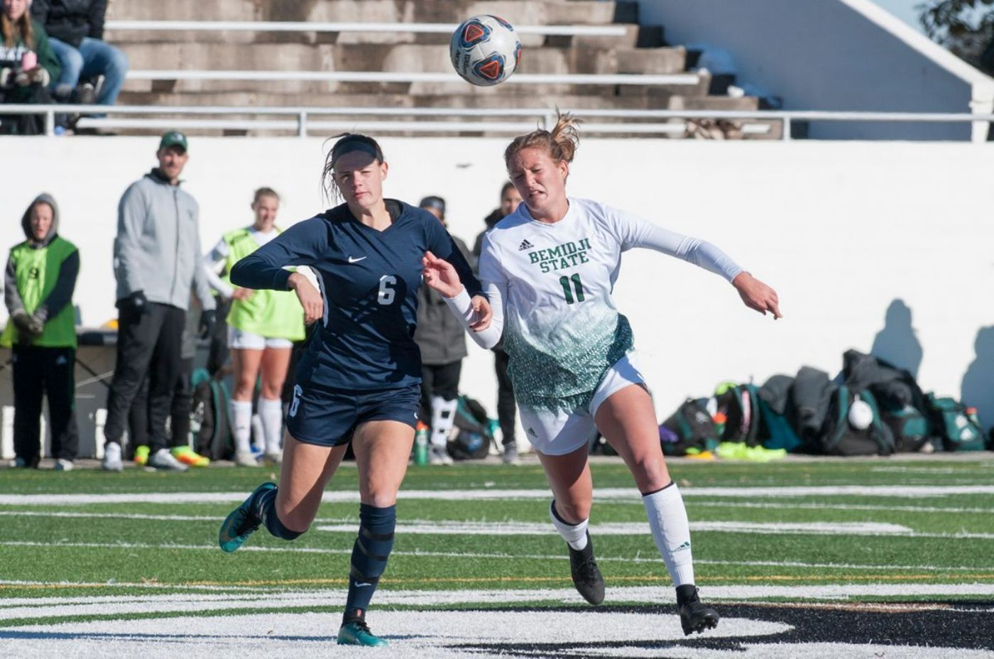 Becker and Wendt propel Bemidji State Soccer to 2-1 win at Concordia-St. Paul