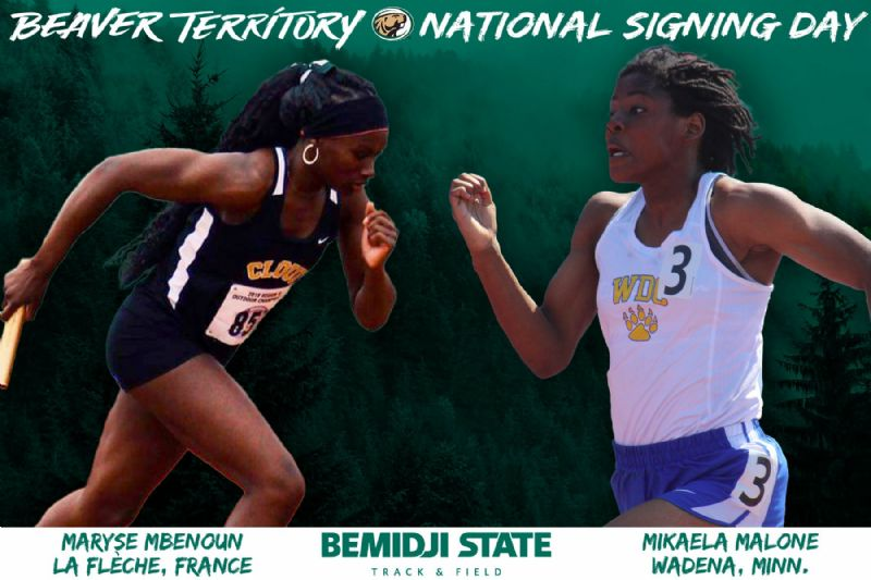 Track & Field announces two student-athletes to 2021-22 signing class