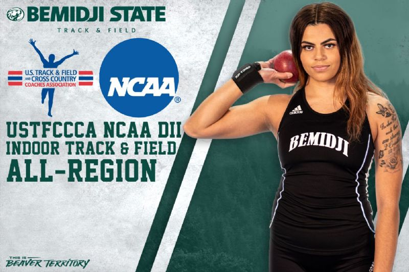 Zoe Christensen named all-region and NCAA DII Championship participant
