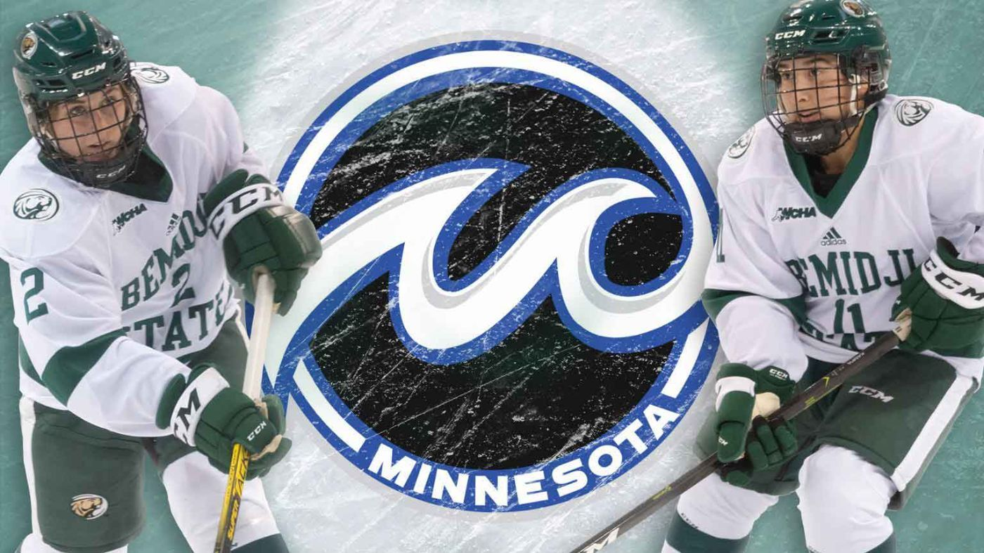 Two Bemidji State women's hockey players selected by Whitecaps in NWHL Draft