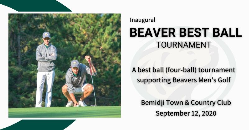 Inaugural Beaver Men's Golf Best Ball set for Sept. 12