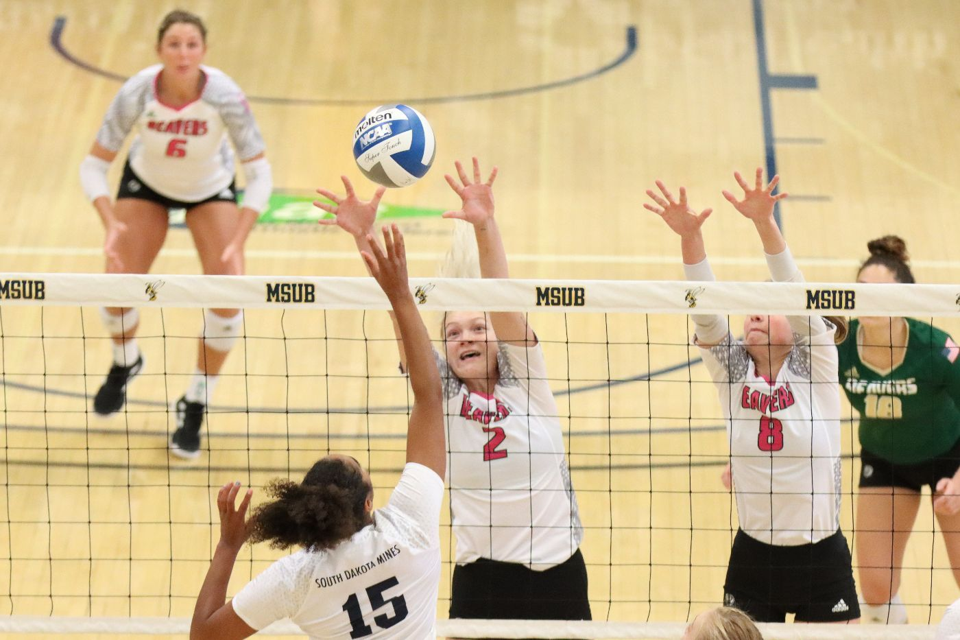 Beavers fall in both matches to open play at Yellowjacket Invitational