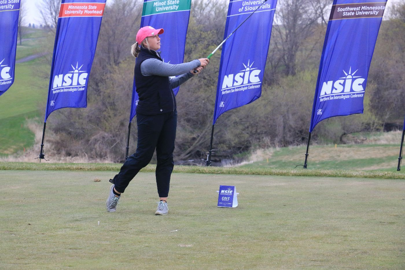 Beavers holds seventh after day two of NSIC Championship