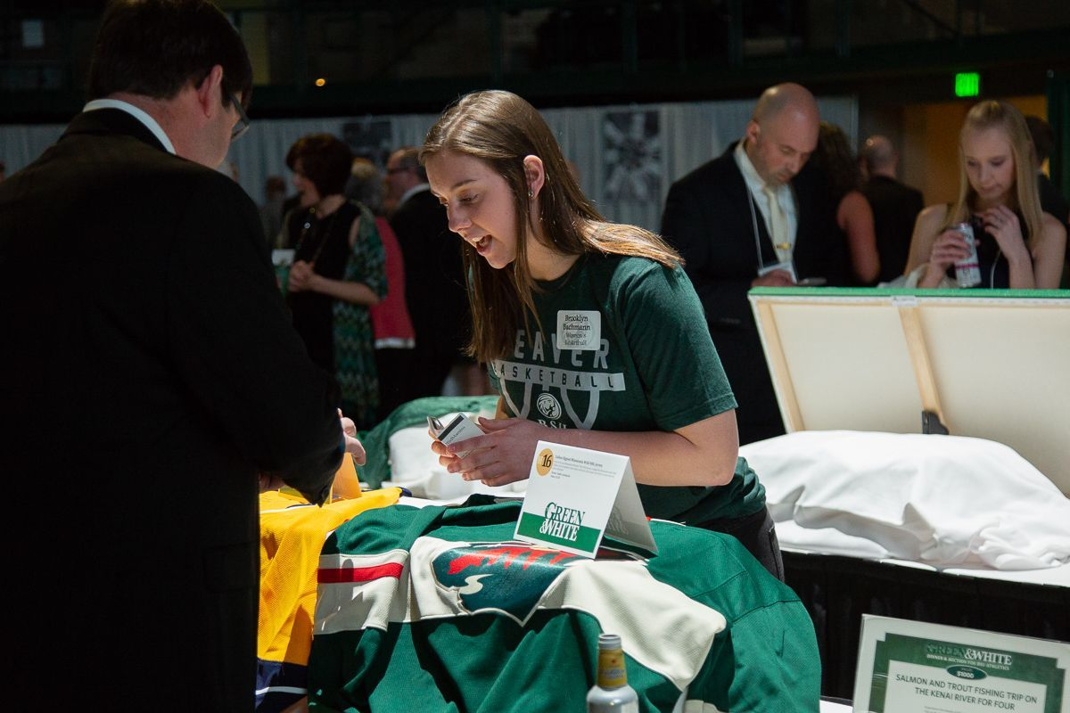 Green and White Dinner and Auction nets nearly $100,000 for BSU Athletics