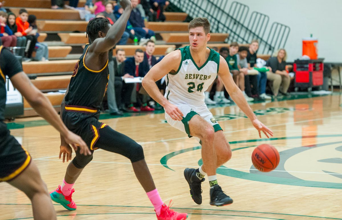 Bader reaches 1,000 points, 600 rebounds in Beavers win Friday night