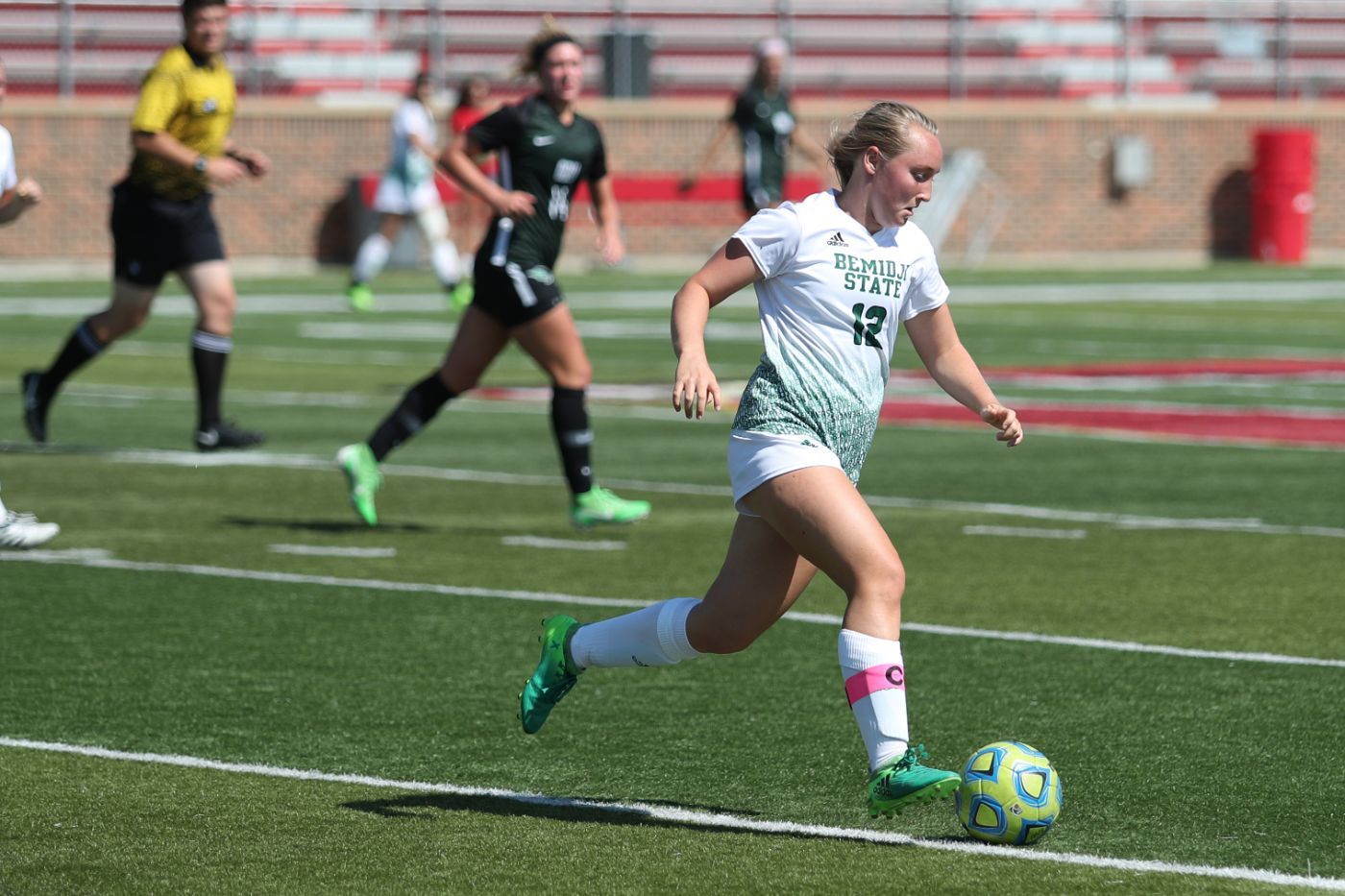 Nelson pushes BSU Soccer past Oklahoma Baptist in 2018 opener