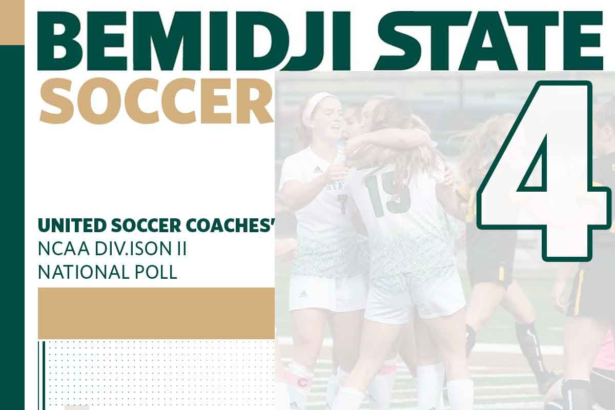 Bemidji State Soccer climbs to No. 4 in the nation in final regular-season poll
