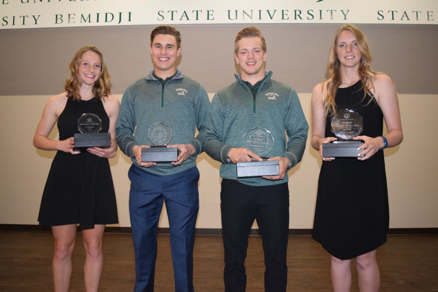 Yost and Bitzer named Bemidji State's Student-Athletes of the Year