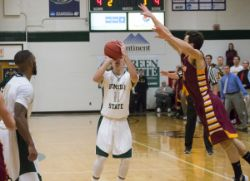 MBasketball vs. Northern State (1/22/16)