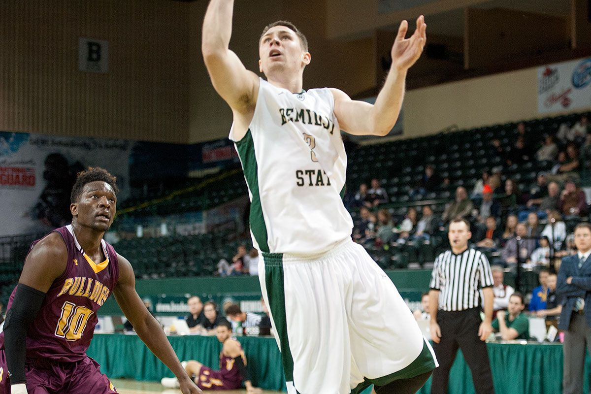 Late dunk seals Bemidji State's 70-69 win over St. Cloud State