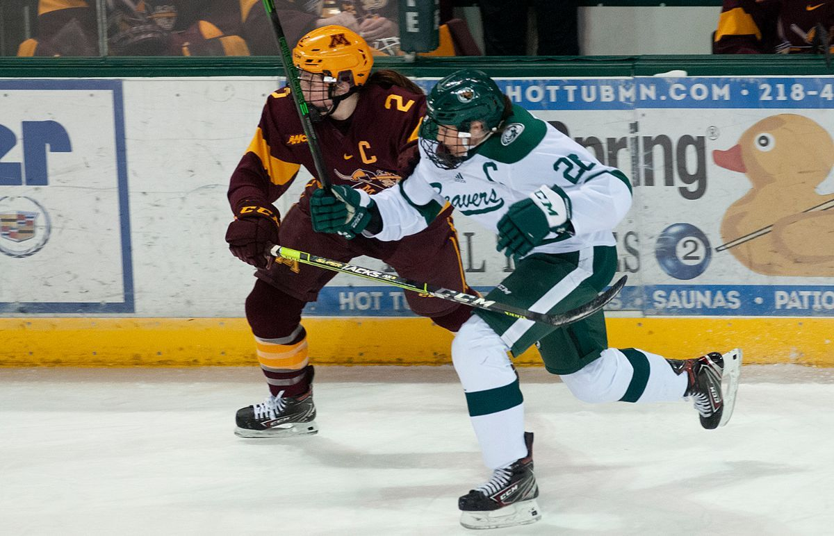 Zumwinkle's hat trick powers No. 4 Gophers over Beavers